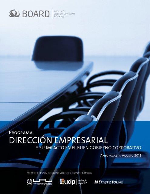 DIRECCIÓN EMPRESARIAL - Universidad Adolfo Ibañez