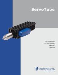 ServoTube Actuator - M Rutty & Co.