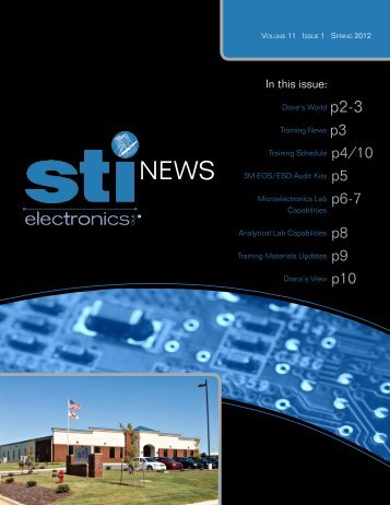 Volume 11 Issue 1 - STI Electronics, Inc.