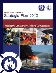 Strategic Plan 2012 - City of Bellevue