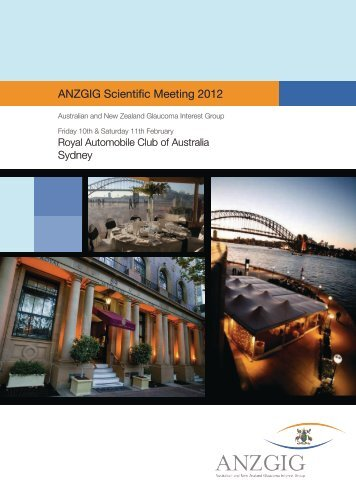 ANZGIG Scientific Meeting 2012