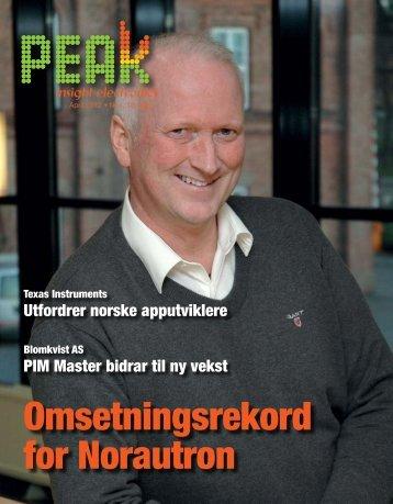 Utfordrer norske apputviklere PIM Master bidrar til ... - Peak Magazine