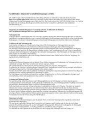 Allgemeine Geschäftsbedingungen für www.grafik ... - Ludwig & Kiefer