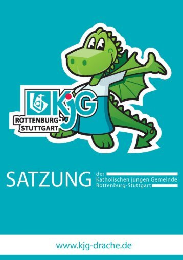 Satzung - KjG Diözesanverband Rottenburg-Stuttgart