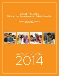 Office of the Ombudsman Annual Report 2014