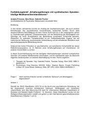 """Fortbildungsbrief """"Erhaltungstherapie mit synthetischen Opioiden ..."""