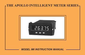 IMI Manual 719KB - Red Lion Controls