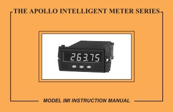 IMI Manual 719KB - Red Lion Controls