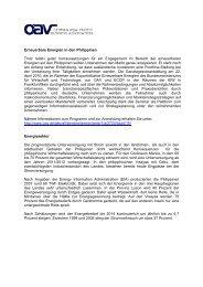 Brancheninformationen - Dr. Klippe Consult