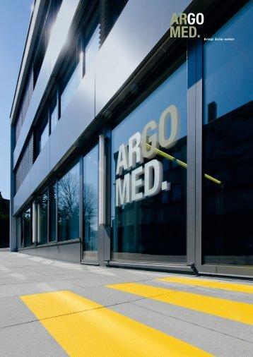Firmenbroschüre - Argomed