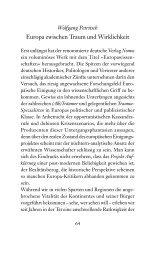 Europa zwischen Traum und Wirklichkeit - Wolfgang Petritsch