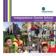 2008-2009 Annual Report - Independence Charter School