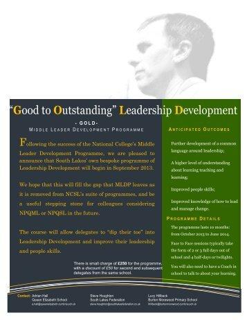 Leadership Development - Queen Elizabeth School