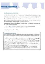 Arbejdspladsvurdering (APV) - Institut for Matematiske Fag
