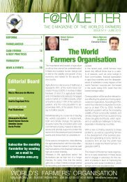 The World Farmers Organisation - YPARD