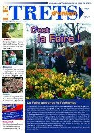La Foire annonce le Printemps - Mairie-de-trets.fr