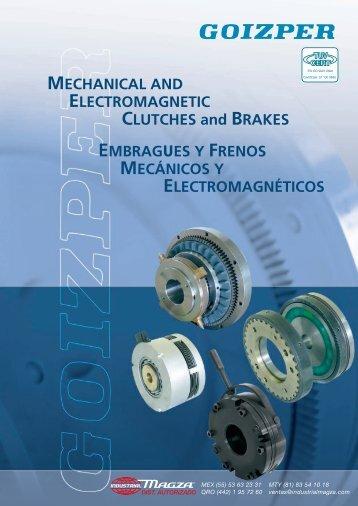 Embragues y Frenos Mecanicos y Electromagneticos - Industrial ...