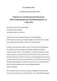 FBG - Dr. Paul Wengert