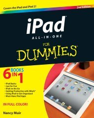 iPad® All-in-One For Dummies®, 2nd Edition