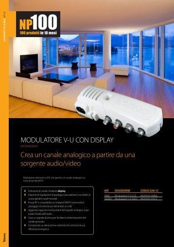 Crea un canale analogico a partire da una ... - C2D Technology