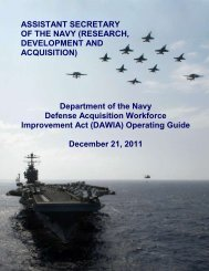 DAWIA Operating Guide - Marine Corps Systems Command