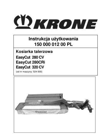 Instrukcja u ytkowania 150 000 012 00 PL - Agromix