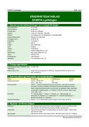 Säkerhetsdatablad (MSDS) (355.8 KB - pdf) - Jula