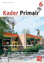 Kader Primair 6 (2009-2010) - Avs