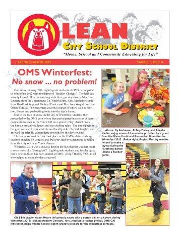 March 2012 - Olean City School District