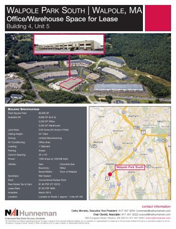 Office/Warehouse Space for Lease - NAI Global