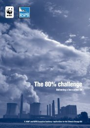 The 80% challenge - WWF UK