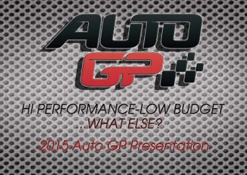 2015 Auto GP Official Presentation_Driver