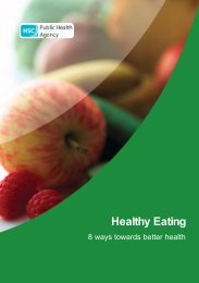 Healthy Eating Booklet (pdf) - Belfast Health and Social Care Trust