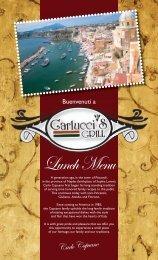 Yardley - Lunch Menu - Carlucci's Grill