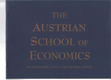 Austrian Family Album - Ludwig von Mises Institute
