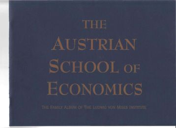 Austrian Family Album - Ludwig von Mises Institute