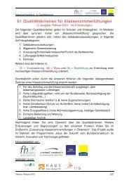 61 Qualitätskriterien für Klassenzimmerlüftung der FH Kufstein ...