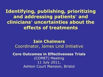 Slides (PDF) - Core Outcome Measures in Effectiveness Trials ...