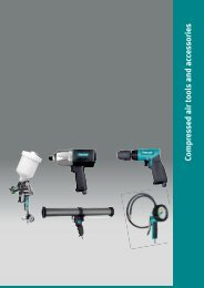 Compressed air tools and accessories - DMK