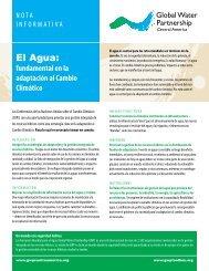 El Agua: - Global Water Partnership