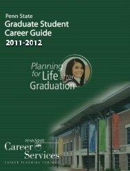 Penn State Graduate Student Career Guide - Biomedical Sciences ...