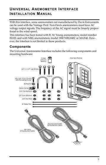 davis instruments vantage pro2 manual