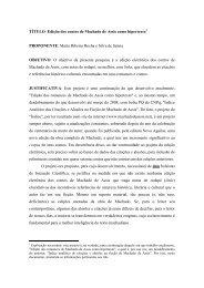 Edição dos contos de Machado de Assis como hipertexto