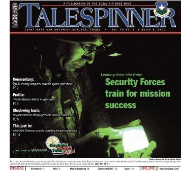 March 8, 2013 - San Antonio News