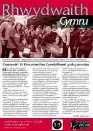 Rhwydwaith Cymru 461, 20 Chwefror 2013. - WCVA