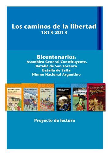 Proyecto Los caminos de la libertad - Alfaguara Infantil
