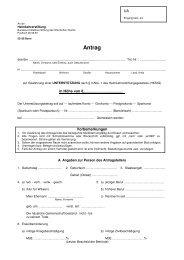 Antrag (auf Gewährung einer UNTERSTÜTZUNG nach § 3 Abs. 1 ...