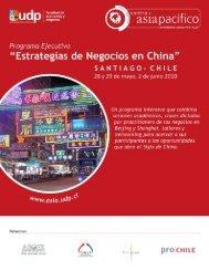 Estrategia de Negocios en China - Centro Asia Pacífico