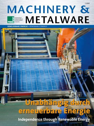 MACHINERY & - Dachverband Energie Klima