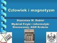 Człowiek i magnetyzm - AGH